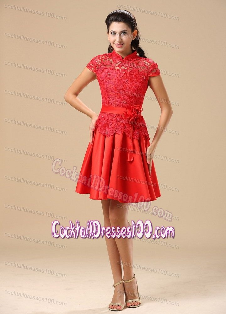 red lace cocktail dress with sleeves wwwpixsharkcom