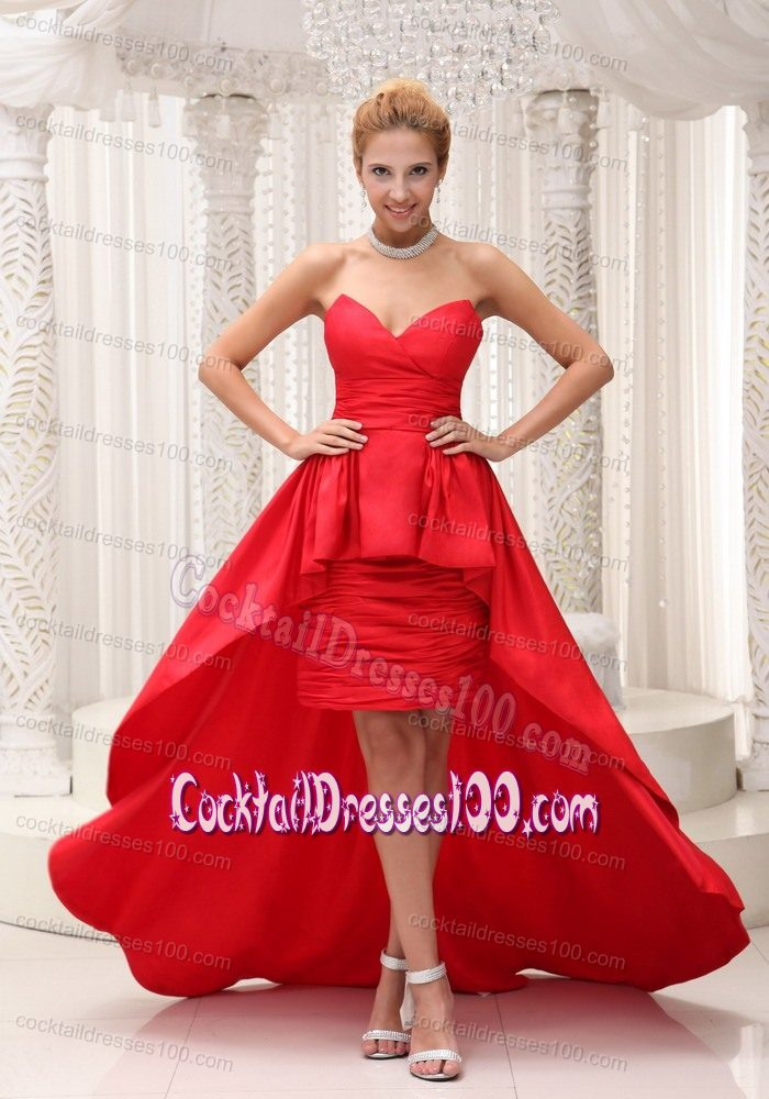 Red Cocktail Dresses 2018 Cheap - Cocktail Dresses 100