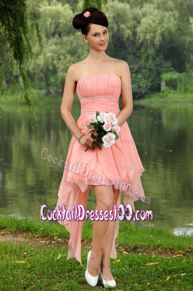 Peach Cocktail Dresses 2017 Cheap - Cocktail Dresses 100