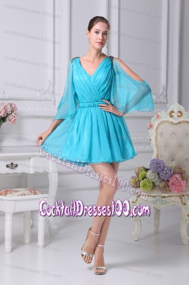 Discount Lilac Aqua Blue Cocktail Dresses for Women