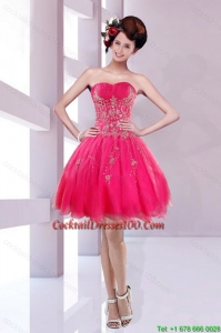 2015 New Style Sweetheart Charming Cocktail Dresses with Embroidery