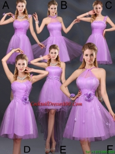 The Super Hot Lilac A Line Fairy Cocktail Dresses