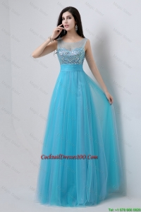 2016 Juniors Sweetheart Tulle Prom Dresses with Beading