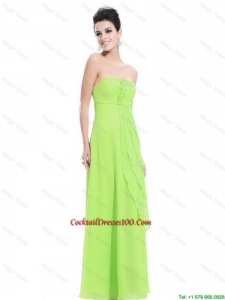 New Arrivals Strapless Beaded Cocktail Dresses in Spring Green