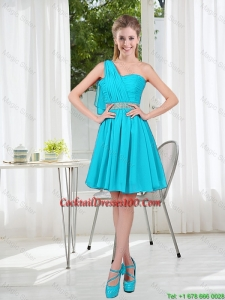 Beautiful A Line One Shoulder Cocktail Dresses for Party