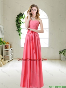 Discount 2015 Cocktail Dresses with Sashes and Ruching