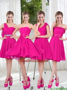 2016 Spring A Line Short Prom Dresses with Ruching