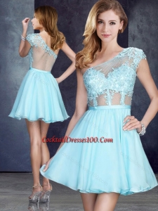Aqua Blue Cocktail Dresses 2017 Cheap - Cocktail Dresses 100