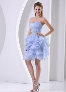 Sweetheart Cocktail Dress with Ruffle Layered Skirt in Phoenix Arizona