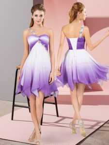 Luxury Sleeveless Beading Lace Up Club Wear