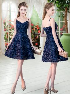 Traditional Sleeveless Lace Zipper Cocktail Dresses