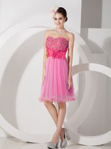 Fashionable Sweetheart Cocktails Dresses with Beading and Ruches