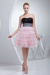Sweetheart Cocktail Reception Dress with a Beading Sash and Ruffles